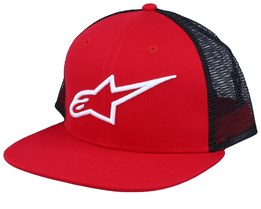 Corp Red/White/Black Trucker - Alpinestars
