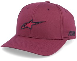 Ageless Burgundy/Black Adjustable - Alpinestars