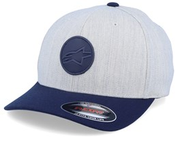 Dot Patch Natural Heather/Navy Flexfit - Alpinestars