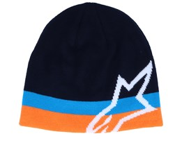Corp Speedster Navy/Blue/Orange Beanie - Alpinestars