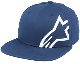Corp Snap Hat Navy/White Snapback - Alpinestars