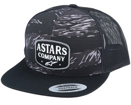 Explore Hat Charcoal Camo Trucker - Alpinestars
