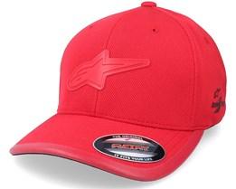 Astound Tech Hat Red Flexfit - Alpinestars