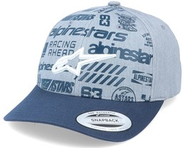 Chaos Grey Heather/Navy Adjustable - Alpinestars