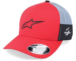 Foremost Tech Hat Red/Grey Trucker - Alpinestars
