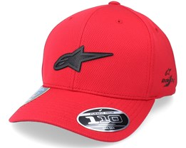 Silent Tech Hat Red Adjustable - Alpinestars