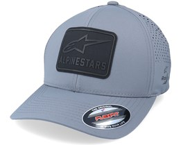 Decore Lazer Tech Hat Charcoal Flexfit - Alpinestars