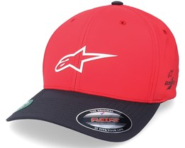 Neo Ageless Wp Tech Hat Red/Black Flexfit - Alpinestars