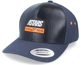 Data Hat Navy Adjustable - Alpinestars