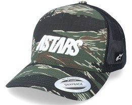 Tropic Hat Military/Black Trucker - Alpinestars