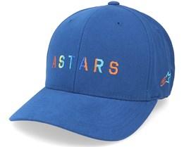 Block Hat Blue Flexfit - Alpinestars