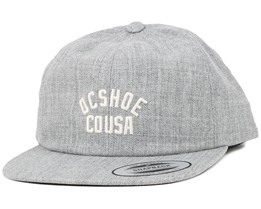 Out There Heather Grey Snapback - DC