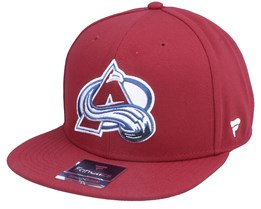 Colorado Avalanche Primary Logo Core Claret Snapback - Fanatics