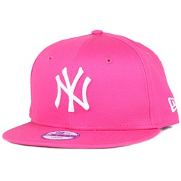 New Era Kids NY Yankees League Basic Hot Pink 9Fifty Snapback - New Era  34 dbc49b2f0f