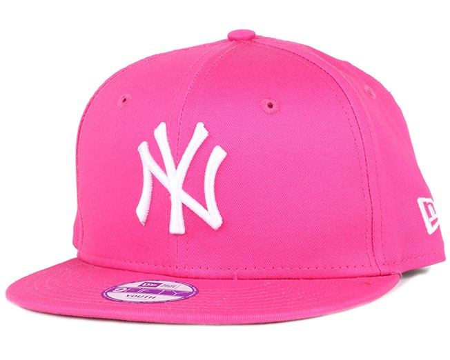 Kids NY Yankees League Basic Hot Pink 9Fifty Snapback - New Era ... 5da7db578e5