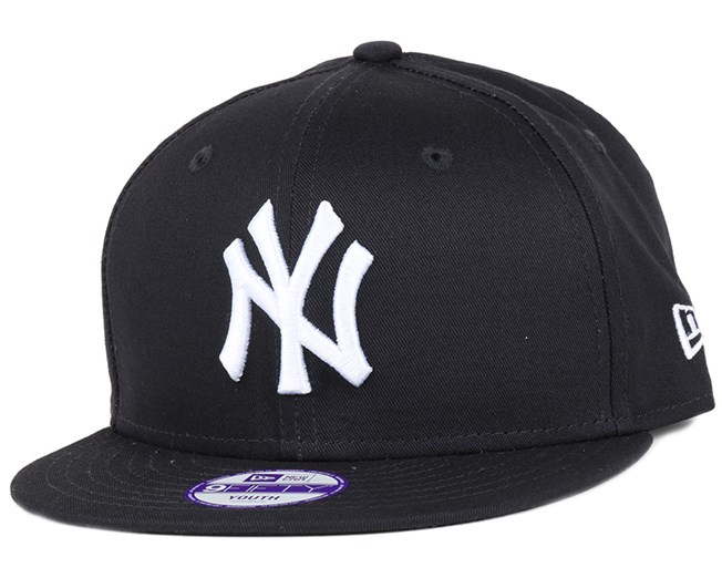 04f3999b3f1 Kids NY Yankees League Basic Navy White 9Fifty Snapback - New Era ...