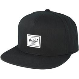 outlet store e82b6 7c49f Herschel Dean Black Snapback - Herschel £24.99