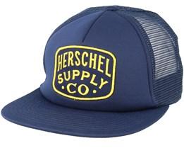Whaler Mesh Peacoat Trucker - Herschel