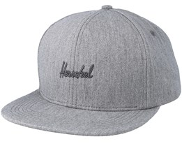 Austin Heather Grey Snapback - Herschel