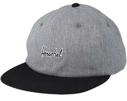 Albert Heather Grey Snapback - Herschel