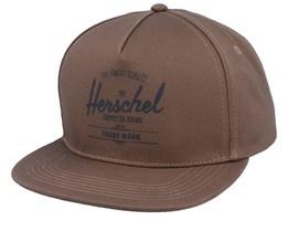 Whaler Pine Bark/Black Trucker - Herschel