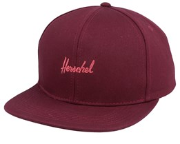 Austin Plum/Mineral Red Snapback - Herschel