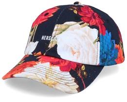 Sylas Vintage Floral Black/White Adjustable - Herschel