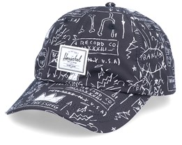 Mosby Curve Basquiat Beat Pop Black Adjustable - Herschel