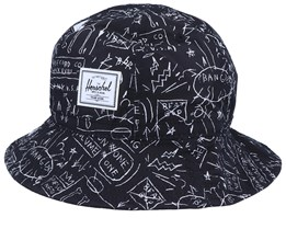 Cooperman Basquiat Beat Pop Bucket - Herschel