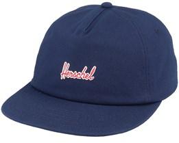 Scout Peacoat/Red Strapback - Herschel