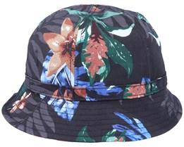 Cooperman Summer Floral Black Bucket - Herschel