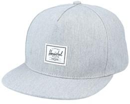 Whaler Classic Heather Grey Snapback - Herschel