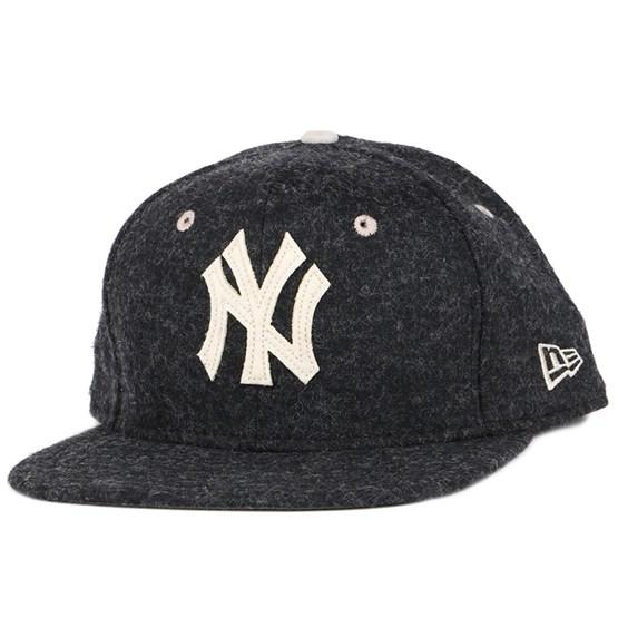 Keps NY Yankees Felt Wool Black 9Fifty Snapback - New Era - Svart Snapback