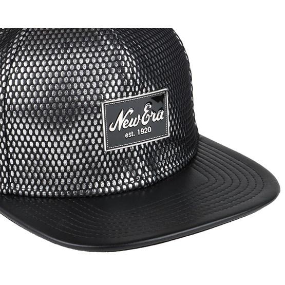 new style 2f462 d4f53 Fabric Mix Black Silver 9Fifty Snapback - New Era caps   Hatstore.co.uk