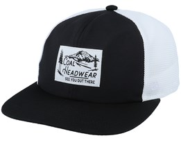 Highland Black/White Trucker - Coal
