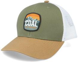 Tumalo Olive/White Trucker - Coal