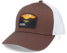 Hauler Low Brown/White Trucker - Coal