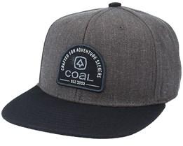 Midvale Charcoal/Black Snapback - Coal
