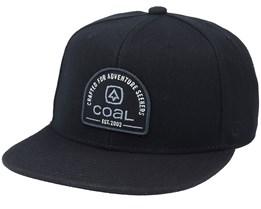 Midvale Black Snapback - Coal