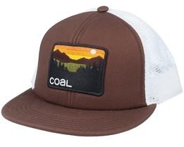 Hauler Brown/White Trucker - Coal