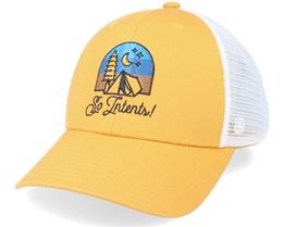 Tall Tales Cap Mustard Trucker - Coal
