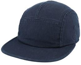 Edison Cap Black 5-Panel - Coal