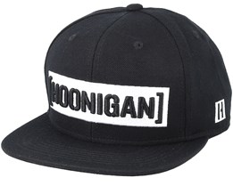 Censor Bar Black Snapback - Hoonigan
