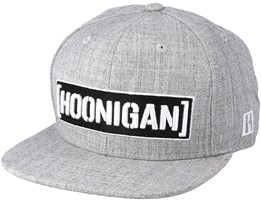 Censor Bar Grey Snapback - Hoonigan