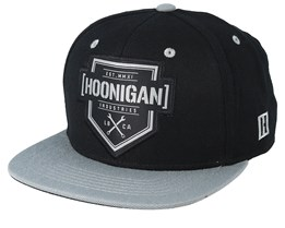 Bracket X Black/Grey Snapback - Hoonigan