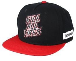 Kill All Tires Gt Black/Red Snapback - Hoonigan