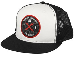 Bolt Hits Black/White Trucker - Hoonigan
