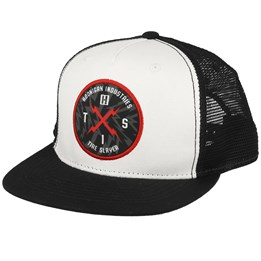 timeless design f892f 0fd90 Hoonigan Bolt Hits Black White Trucker - Hoonigan AU  49.99