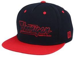 Factory Team Black/Red Snapback - Hoonigan
