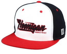 Factory Team White/Black/Red Snapback - Hoonigan